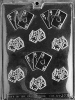 Dices with Aces chocolate mold