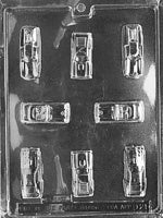 Assorted Cars Chocolate Mold