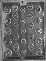 Coin Chocolate Mold
