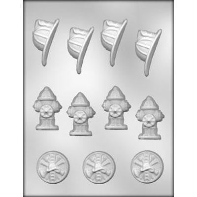 Fireman assortment chocolate mold