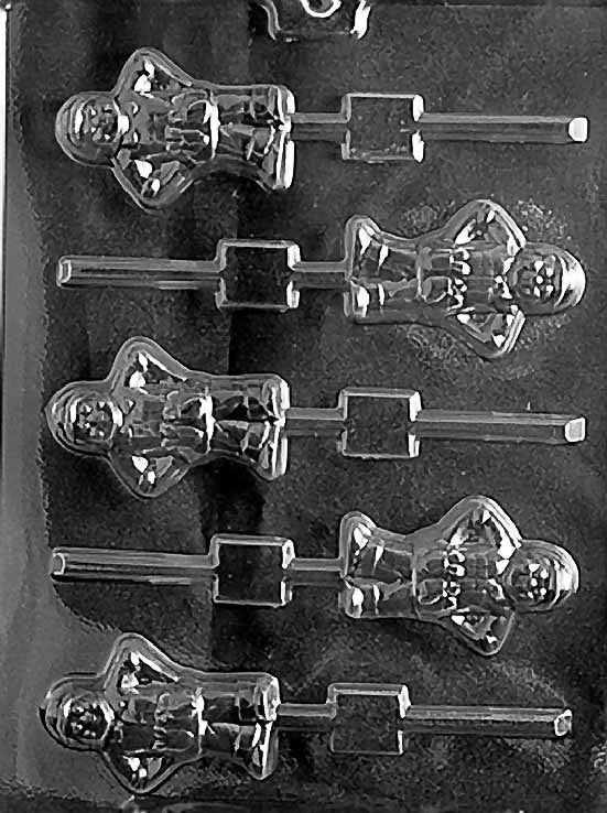 Handyman Lollipop Chocolate Mold