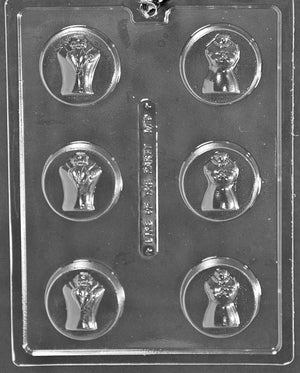 Bride & Groom Cookie Chocolate mold