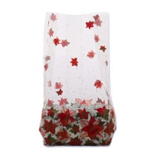 3.5x2x7.5 Bag - Winter Rose - 10 Bags