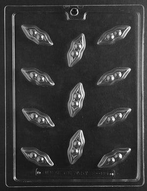 Small Peas In A Pod Chocolate Mold