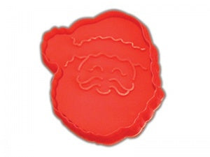 Large Santa Cookie Cutter - Plunger