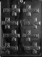 Fancy Crosses Chocolate Mold