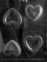 Small Pour Heart Box Chocolate Mold
