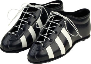 Black Sports Cleats - 1 Pair