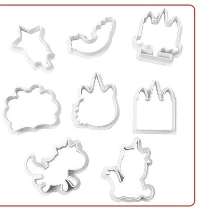 Unicorn Cutters Set 8 piece