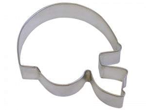 "4.5"" Football Helmet Cookie Cutter"
