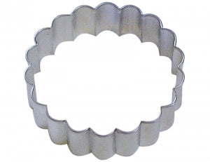 "3.5"" Fluted Round Cookie Cutter"