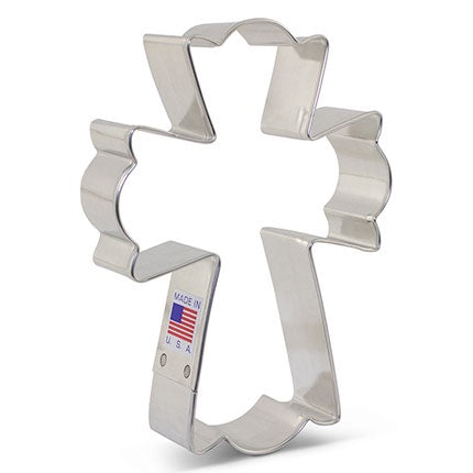 Ann Clark Fancy Cross Cookie Cutter