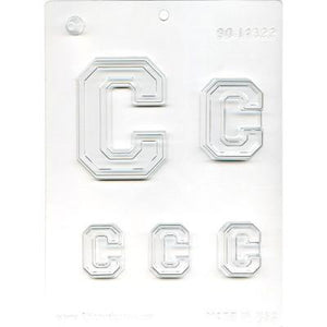 Collegiate C Chocolate Mold