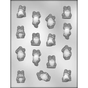 Frog Assortment Chocolate Mold