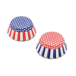 Stars and Stripes Baking Cups - 50 count