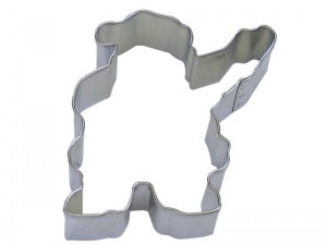 "4"" Waving Santa Cookie Cutter"