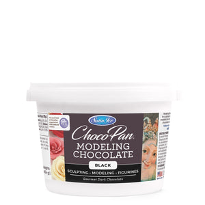 Choco-Pan Modeling Chocolate - Black - 1lb