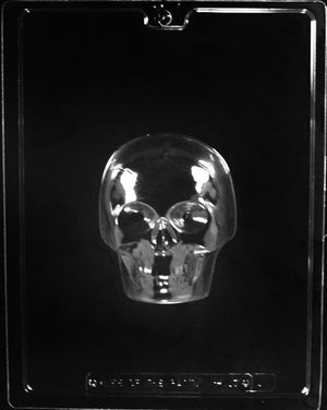 Large 3D Skull Chocolate Mold