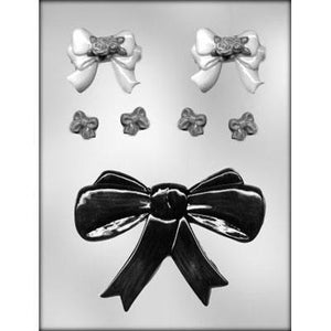 Assortment Of Bows Chocolate Mold