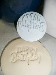 Happy Birthday Embossing Stamper