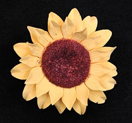 Sunflower Single (Gumpaste)-Medium