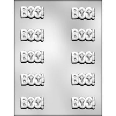 "BOO Chocolate Mold (1 7/8"")"