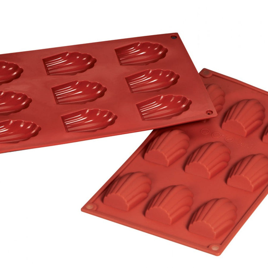 Fat Daddio's Silicone Baking Mold - Madeleine - 1 oz.