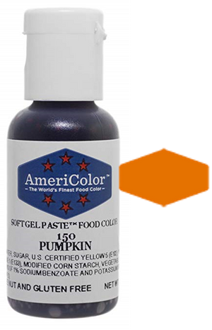 Americolor Soft Gel Paste Food Color - Pumpkin