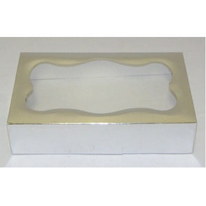 Cookie Box - Silver Foil - Window