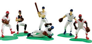 Baseball Players - 6 pieces