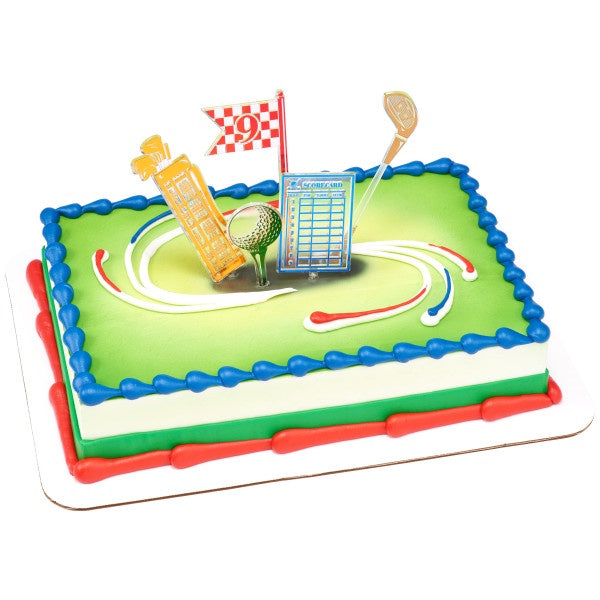 Golf Assortment Cake Kit - 5 Pieces
