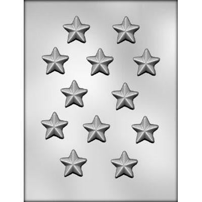 12 Star Chocolate Mold