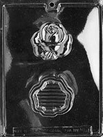 Rose Pour Chocolate Box Mold