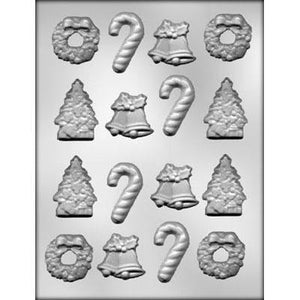 Christmas Assorted Shapes Chocolate Mold