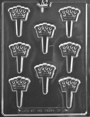 Crown Chocopick Chocolate Mold
