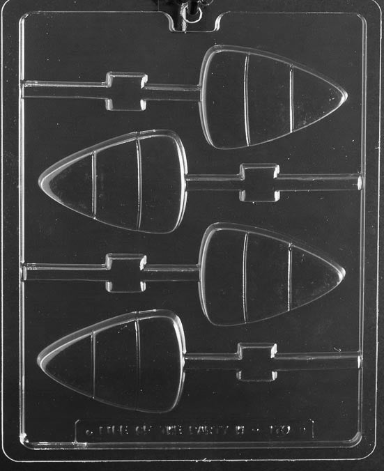 4pc Candy Corn Lollipop Chocolate Mold