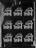 Little House Chocolate Mold