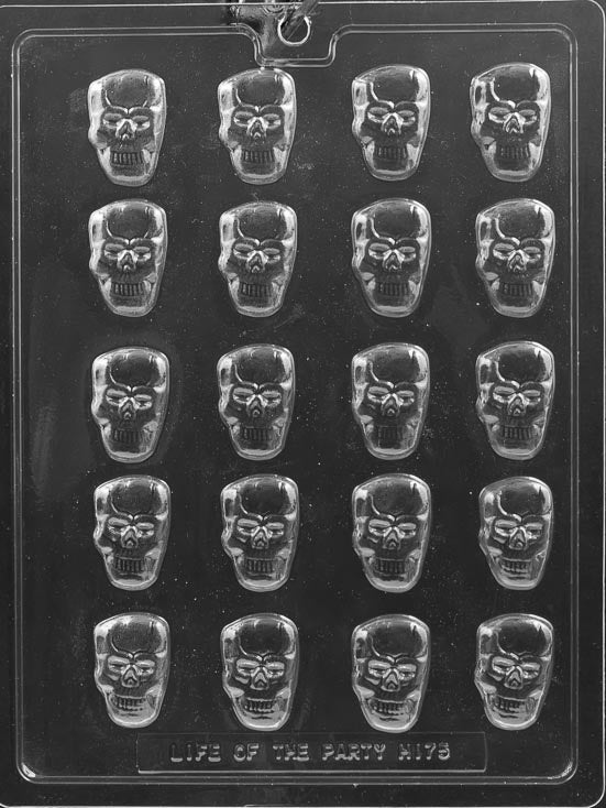 Mini Skulls Chocolate Mold