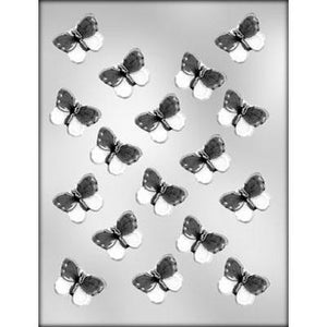 Flat Butterflies Chocolate Mold