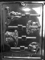 Western Theme Lollipop Mold