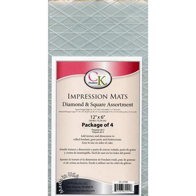 Impression Mats - Diamond & Square Assortment