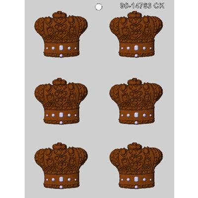 6 Crowns Chocolate Mold