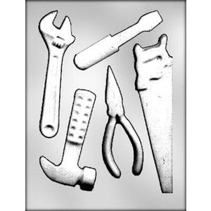 Assorted Tools Chocolate Mold