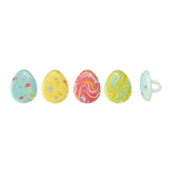 Painted Eggs - 12 Rings