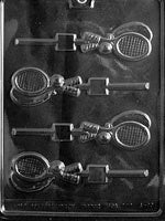 Tennis Racquet Lollipop Chocolate Mold