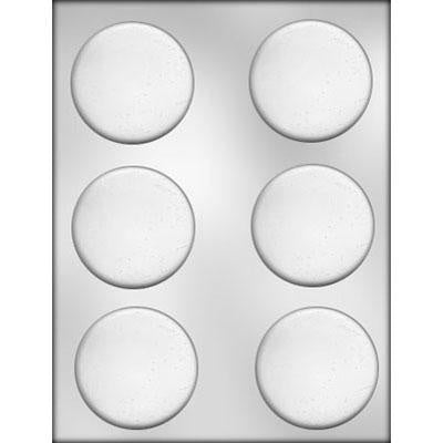 Mint Patty Chocolate Mold 2.5inch