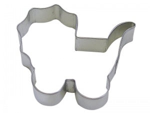 "4"" Baby Carriage Cookie Cutter"