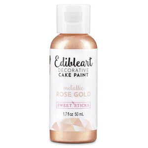 Sweet Sticks Decorative Paint - Metallic Rose Gold - 50ml