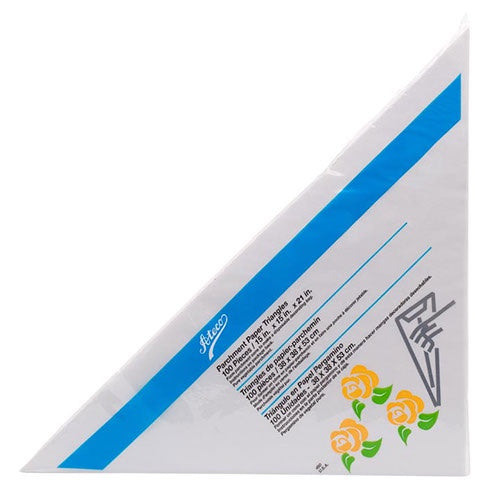 "Parchment Triangles 15"" (Pkg of 100)"