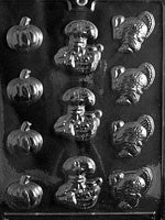 Assorted Thanksgiving Chocolate Mold